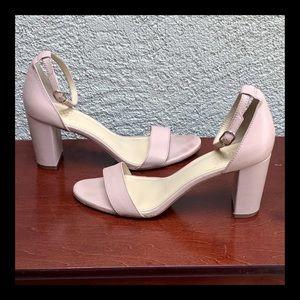 "Vince Camuto ""Monessa"" Blush Pink Heeled Sandals"